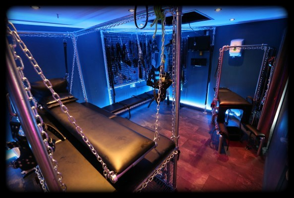 Dungeon Kit Fetish Furniture Bondage Bed & Cage